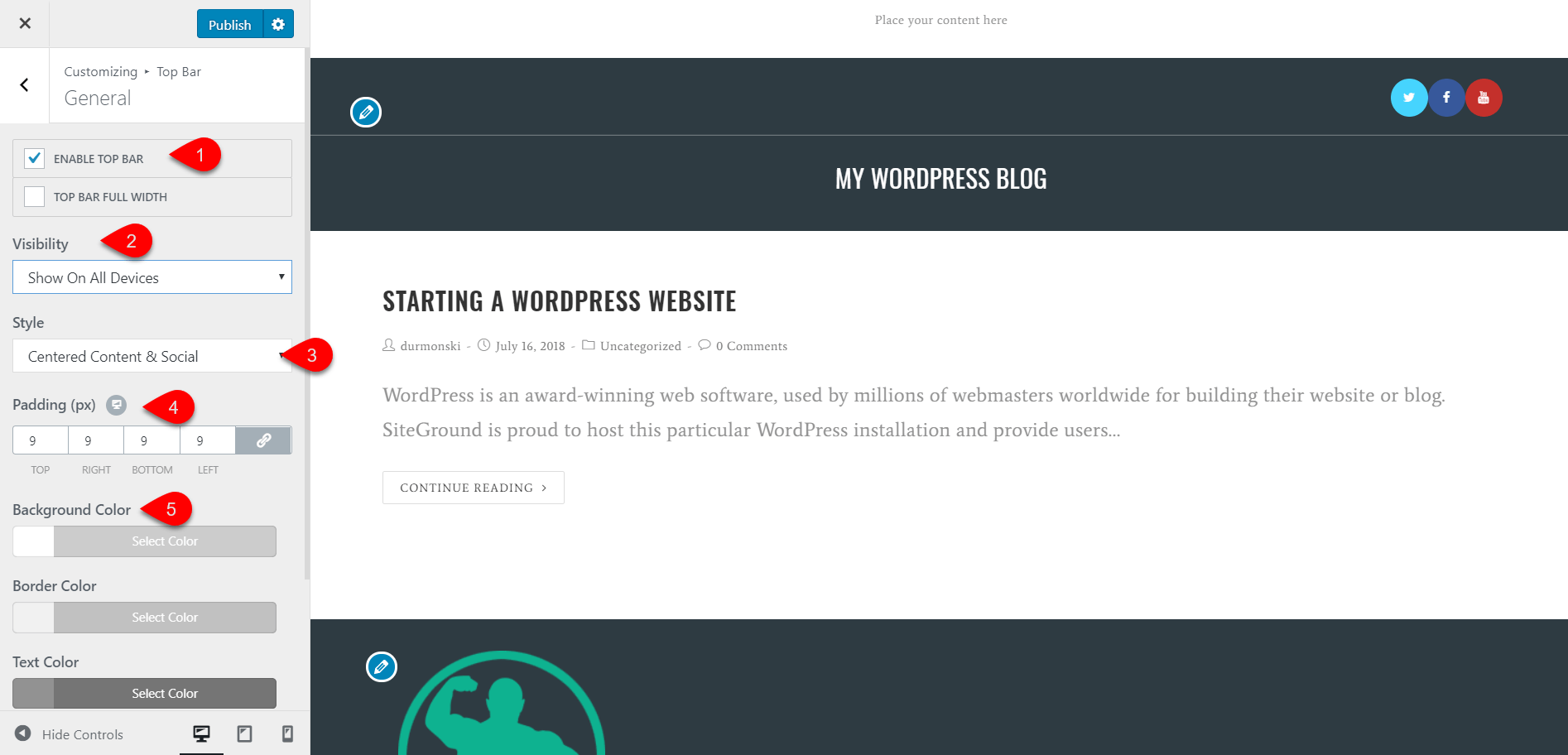 OceanWP WordPress Theme Review 24