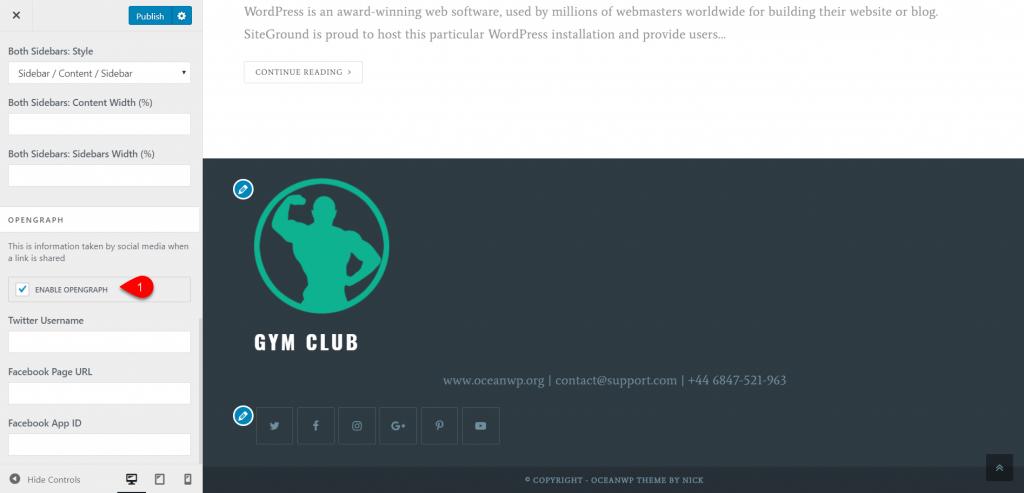 OceanWP WordPress Theme Review 31