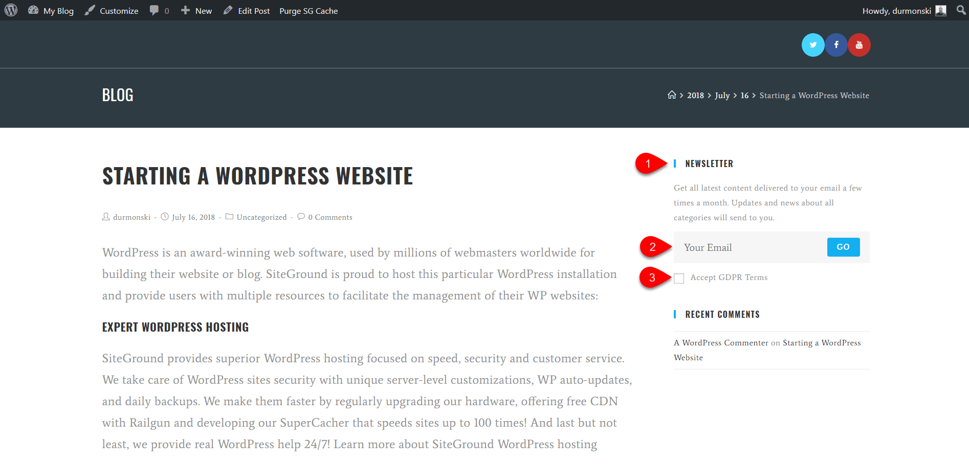 OceanWP WordPress Theme Review 35