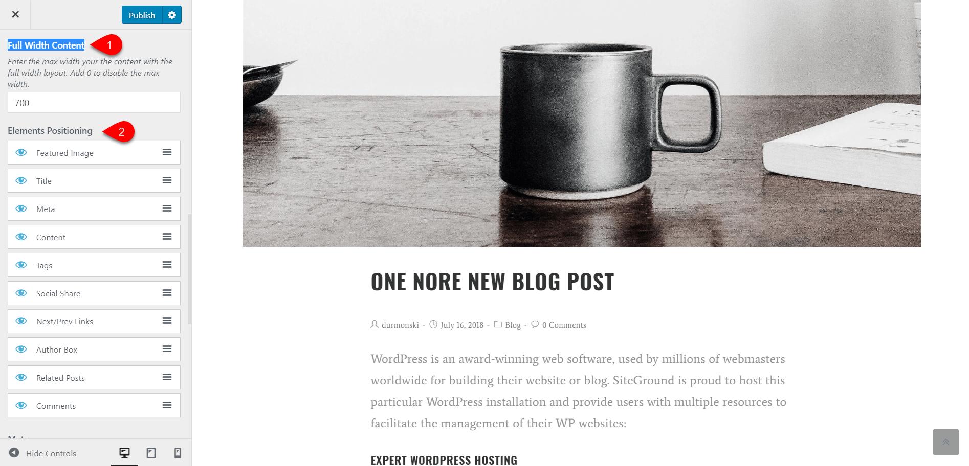 OceanWP WordPress Theme Review 44