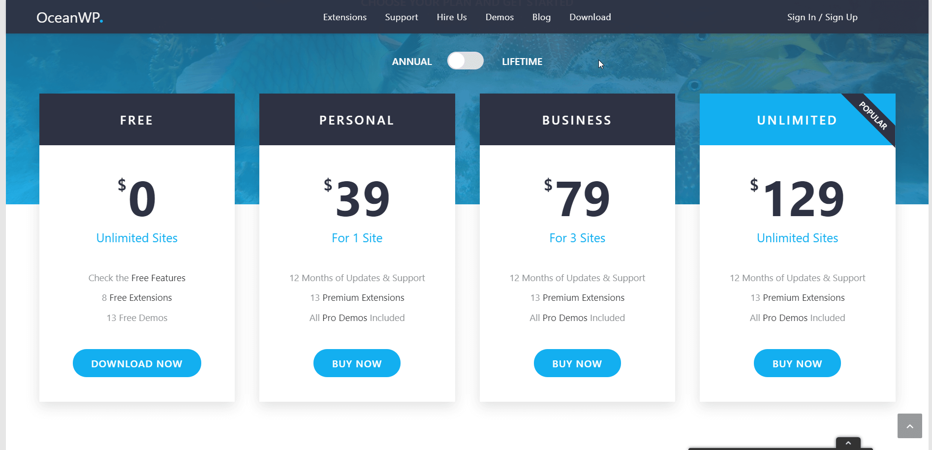 OceanWP WordPress Theme Review 50