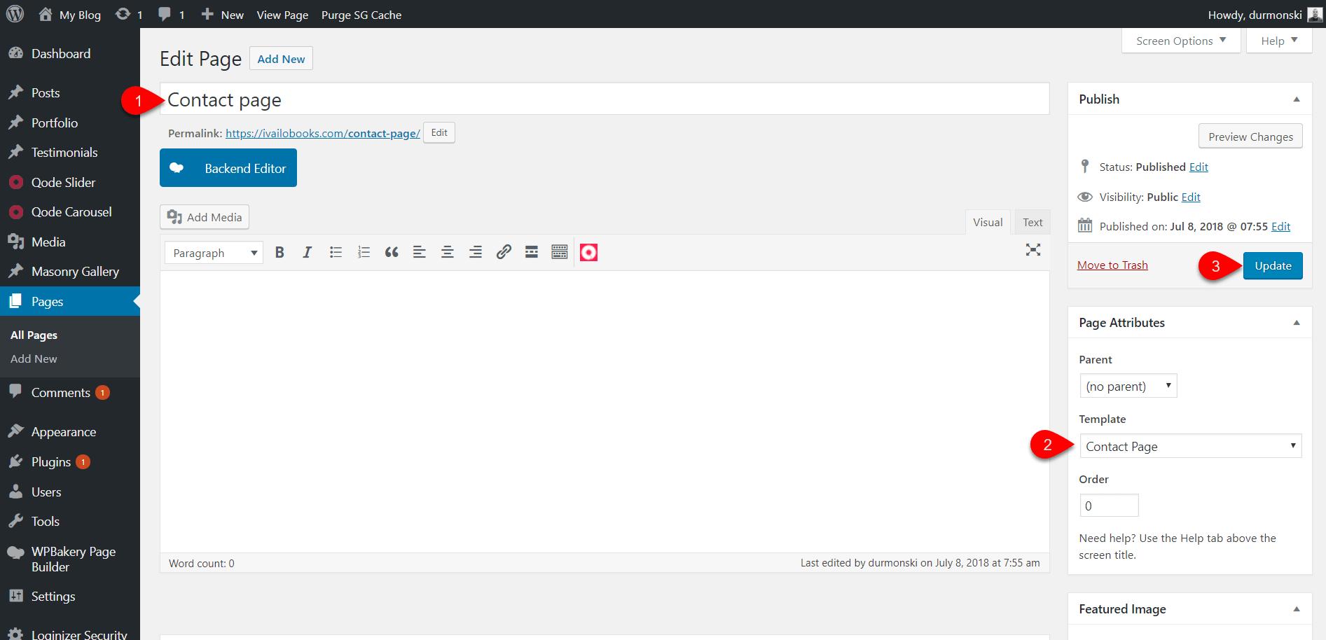 Review of the WordPress theme Bridge 21