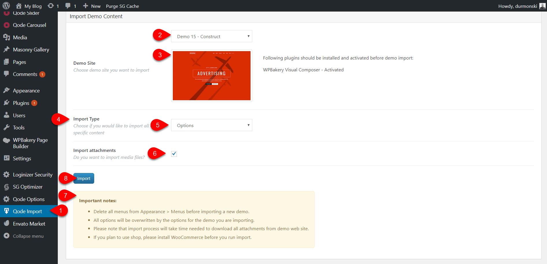 Review of the WordPress theme Bridge 23