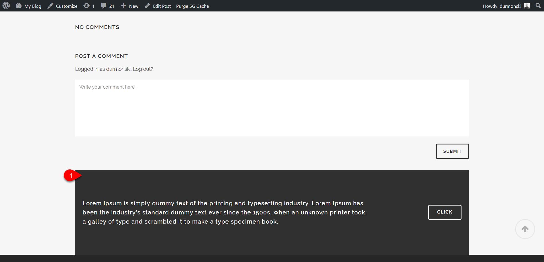 Review of the WordPress theme Bridge 39