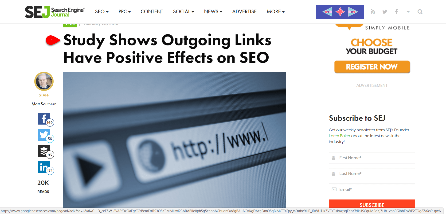 Use External Backlinks