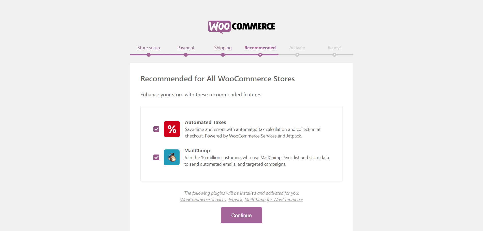 Configuring WooCommerce 3