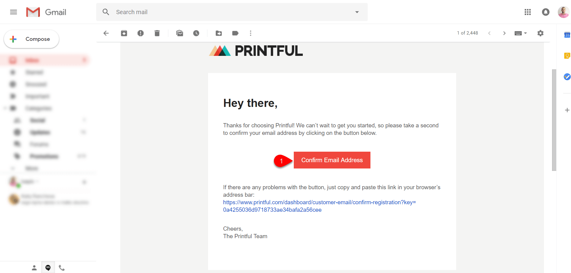 Creating Account with Printful 5