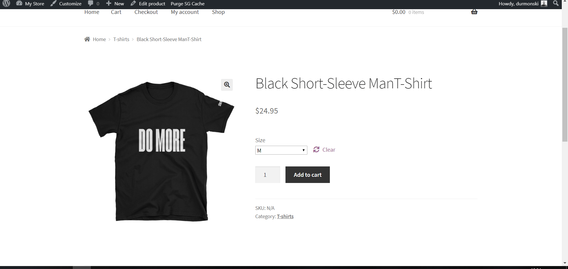 Your Own T-shirt Store With WordPress 23
