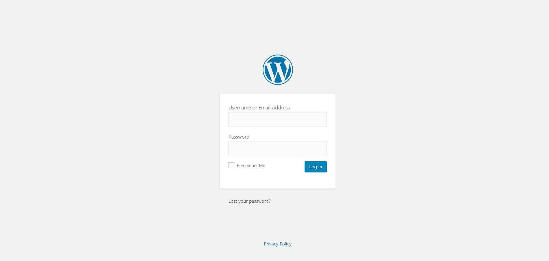 Installing WordPress on SiteGround 3