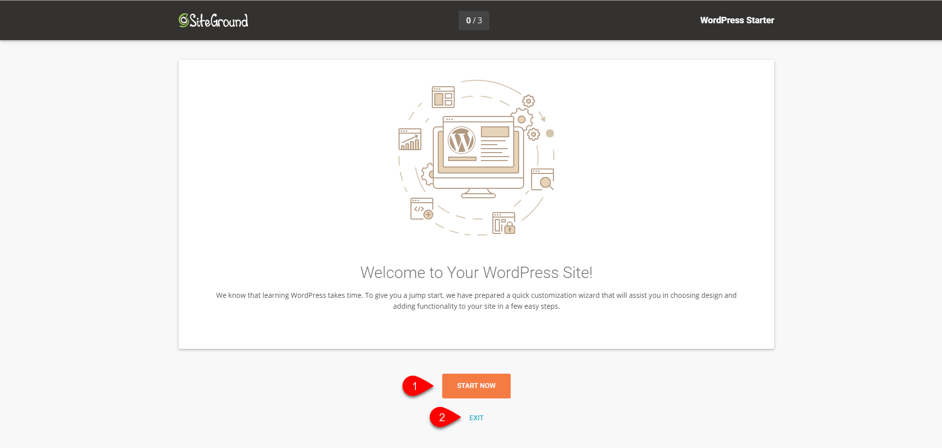Installing WordPress on SiteGround 4