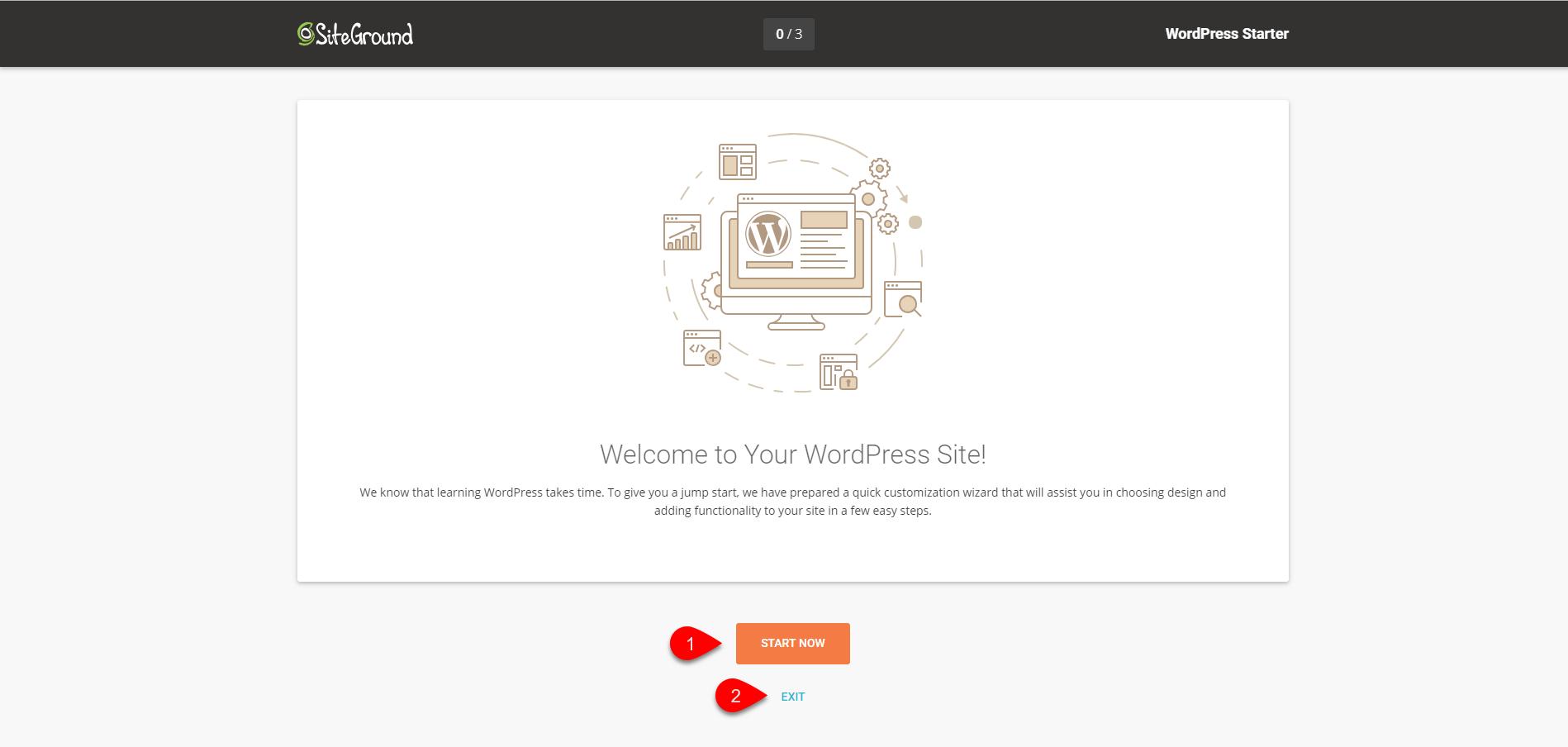 Installing WordPress on SiteGround 4