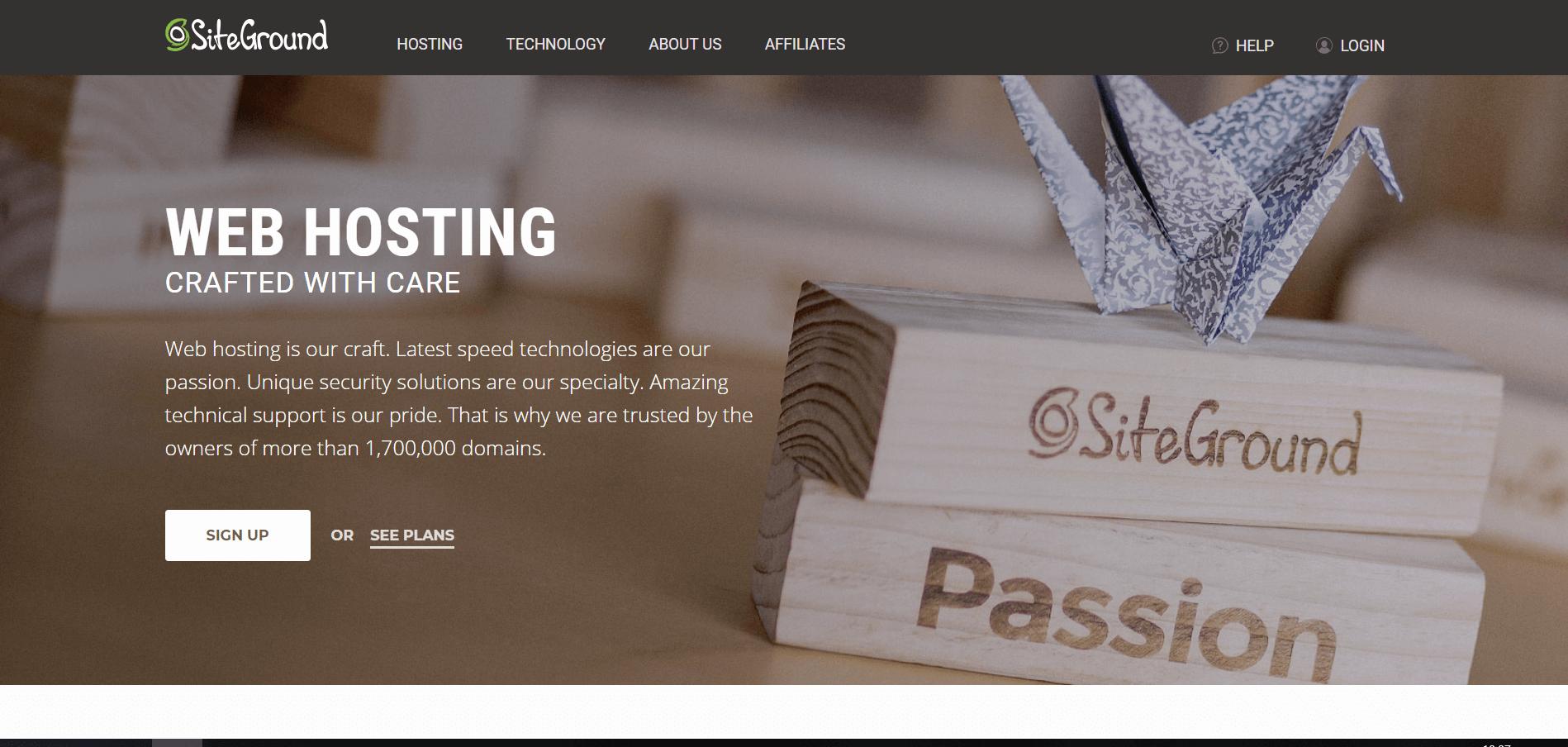 siteground hosting services
