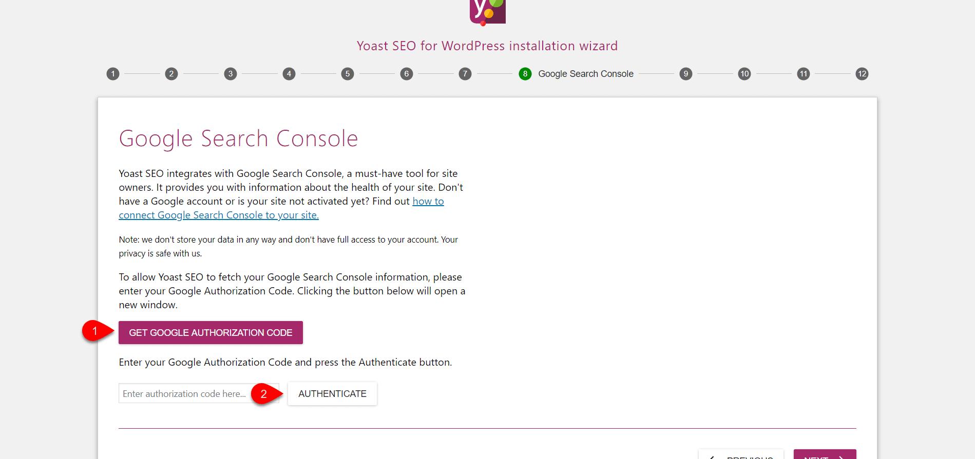 Configure Yoast SEO 9
