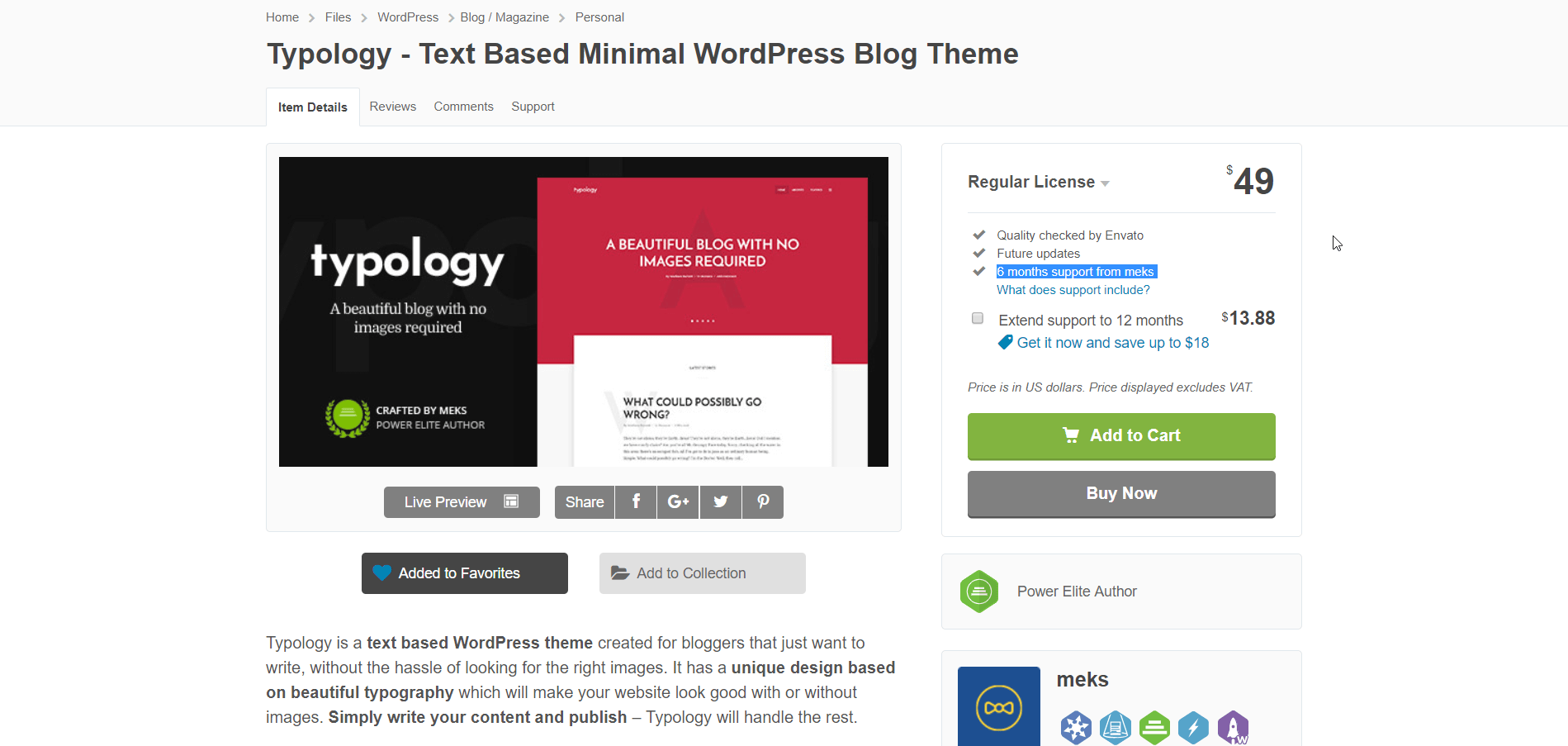 Installing Typology WordPress Theme29