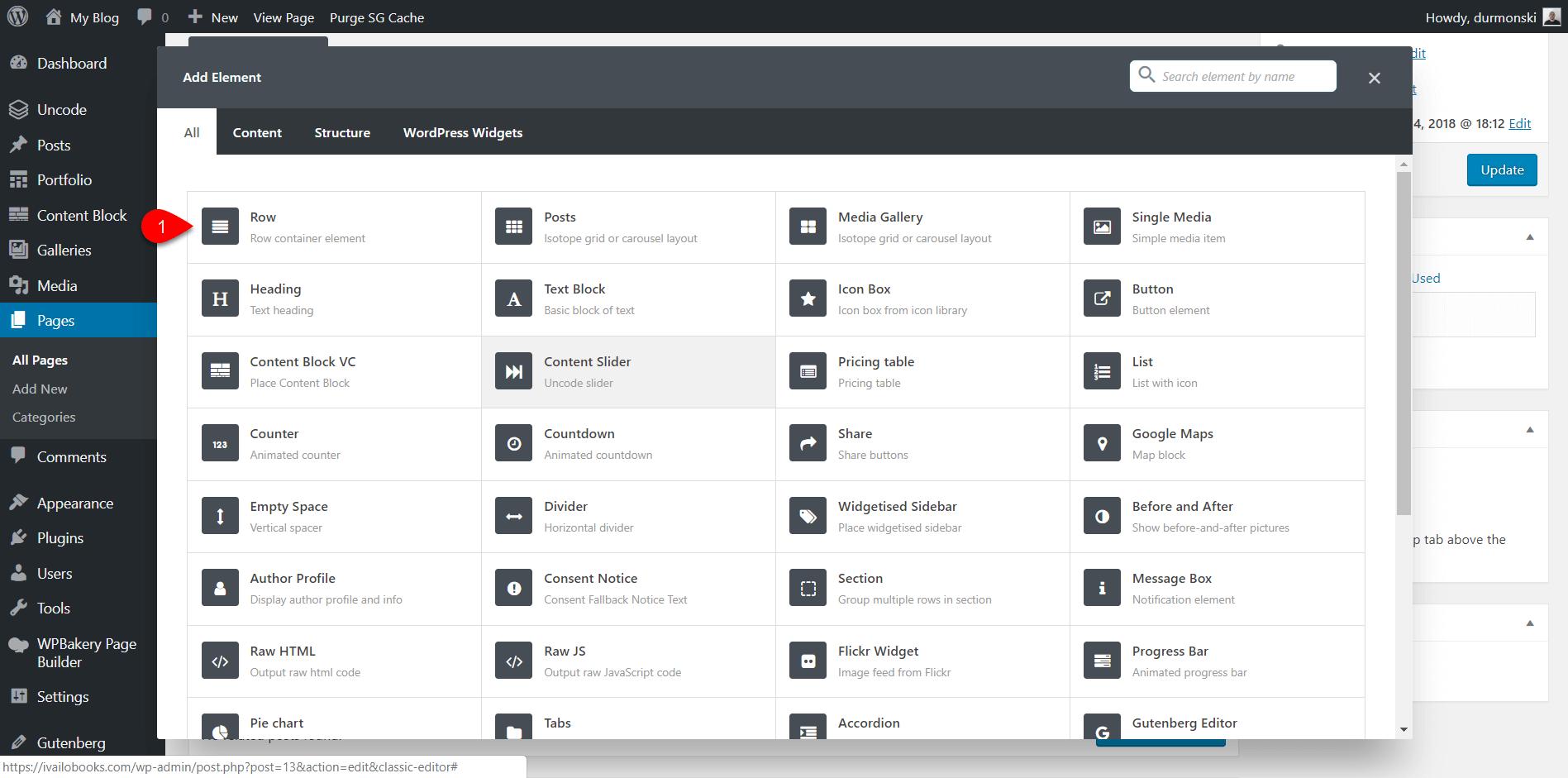 Uncode WordPress Theme Settings 22
