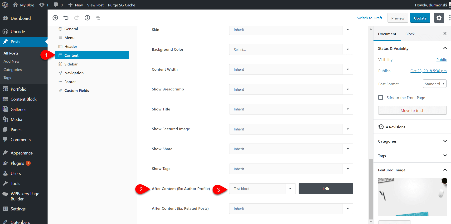 Uncode WordPress Theme Settings 31