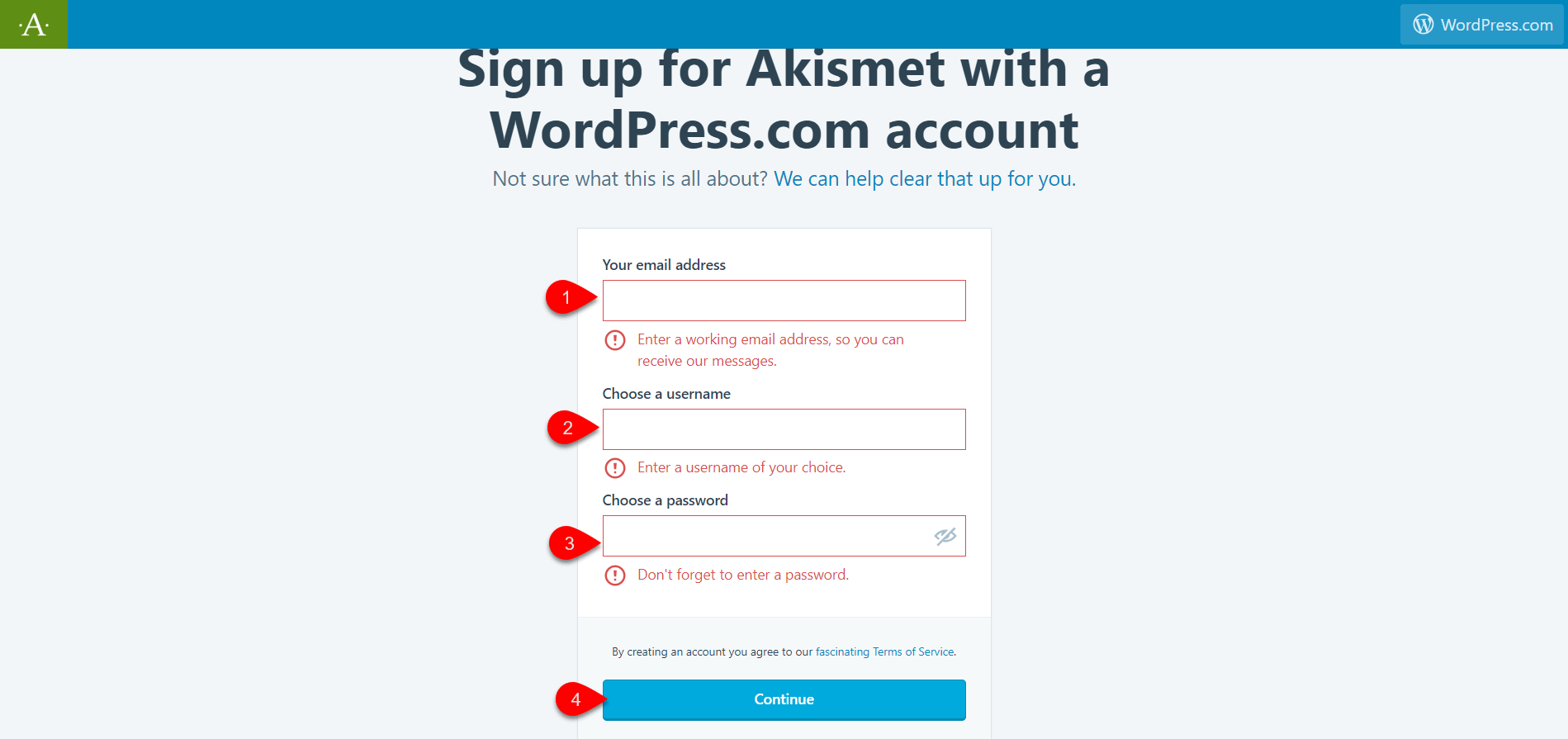 configure Akismet plugin 5