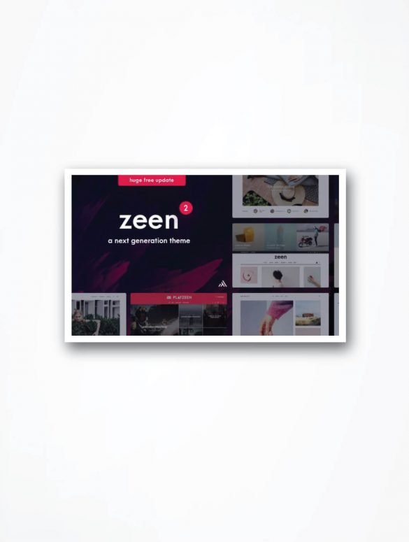 Detailed Zeen Theme Review
