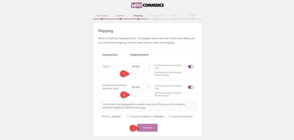Shipping costs for Woo when adding XStore theme