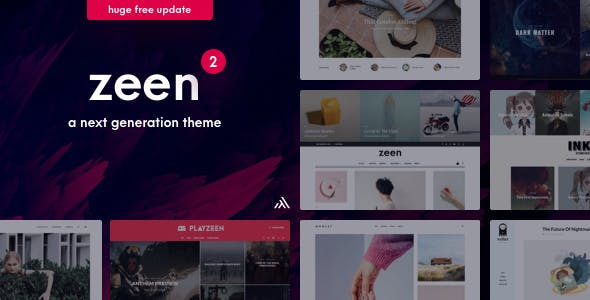 Zeen WordPress Theme Review