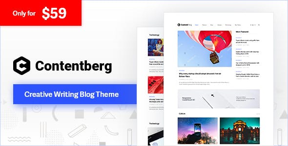 contentberg WordPress theme review