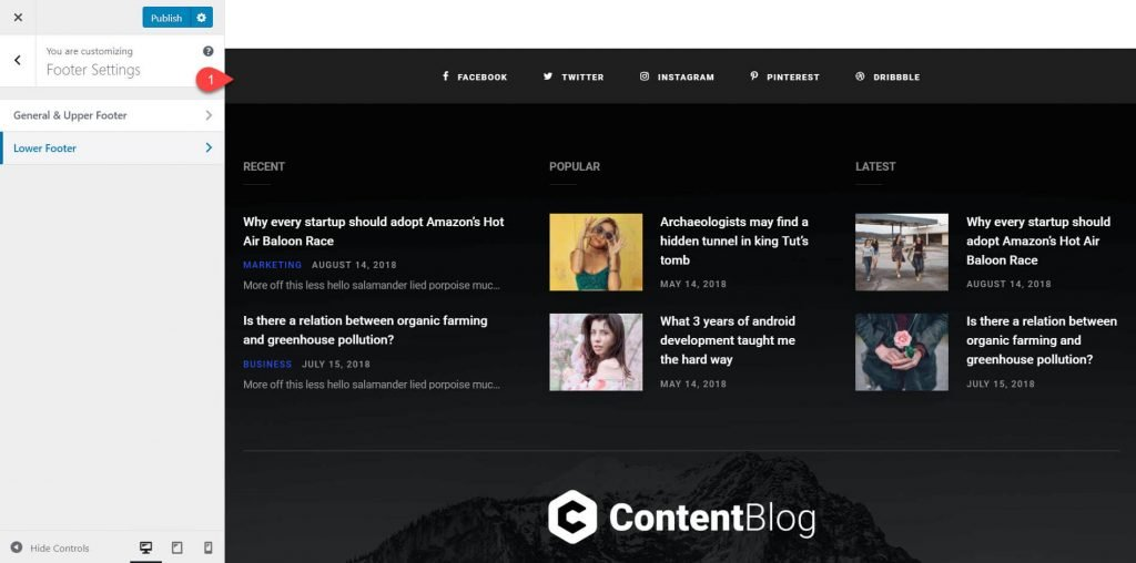 contentberg theme review 15