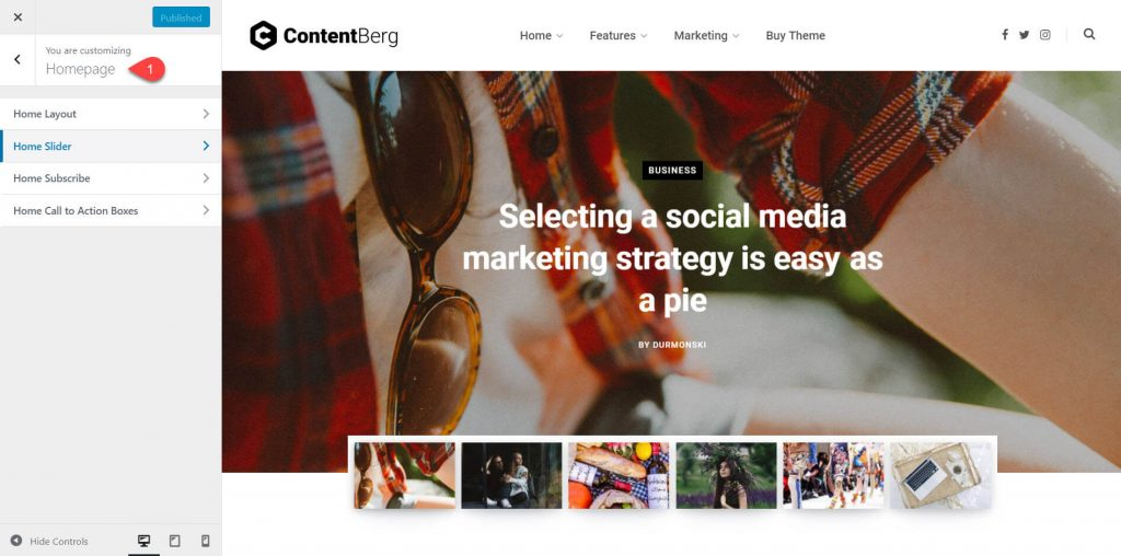 contentberg theme review 8