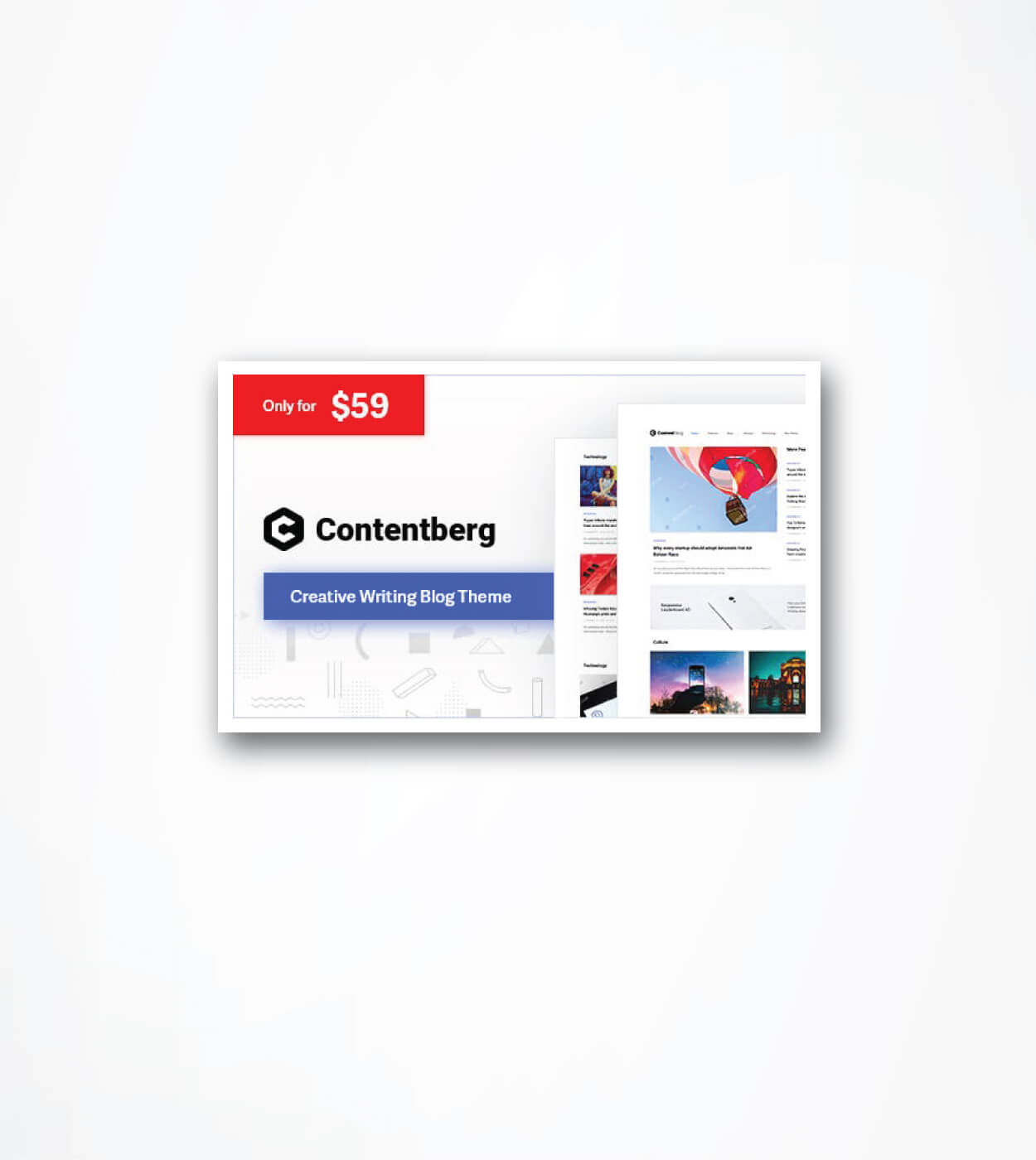 Detailed Contentberg Theme Review: Bloggers Favourite