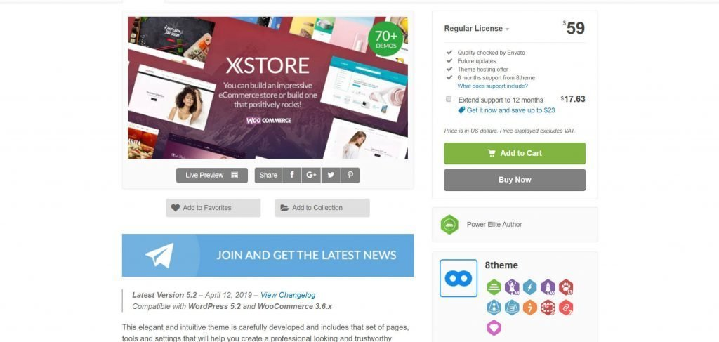 XStore WordPress Detailed Theme Review: eCommerce Solution For Store Owners 4